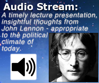 John Lennon Audio Stream